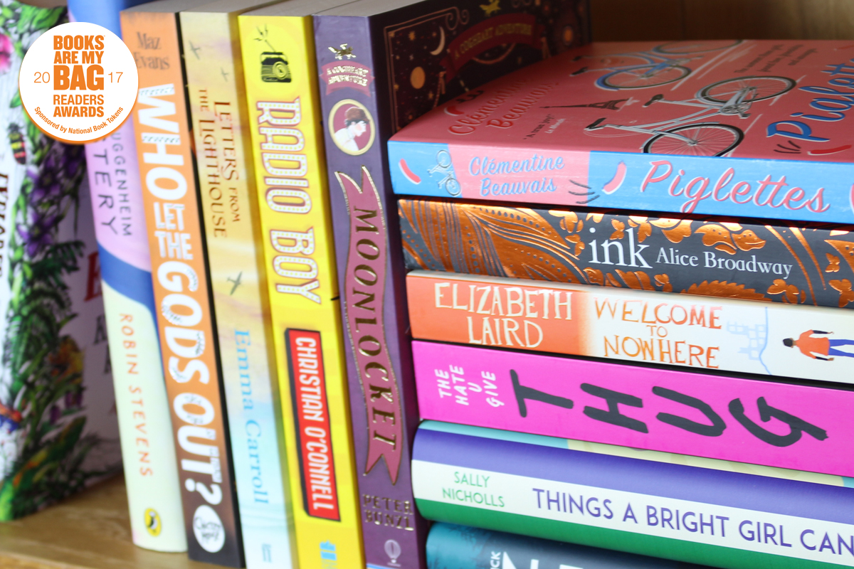 Young Readers Awards shortlisted titles