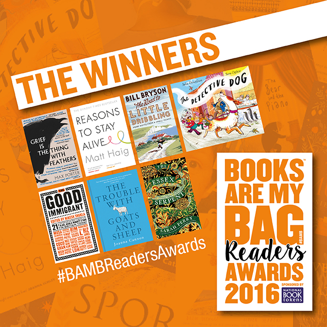 Books Are My Bag Readers Awards 2016