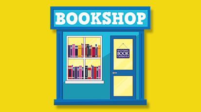 Spend National Book Tokens gift cards in bookshops across the UK and Ireland