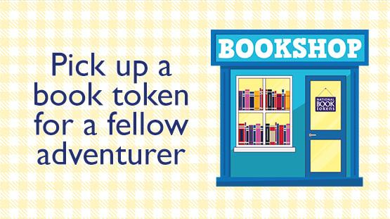 Pick up a book token