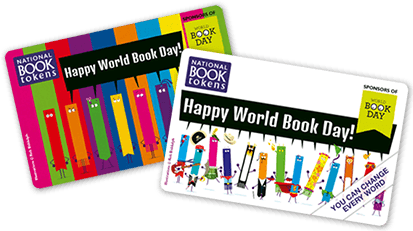 World Book Day personalised gift cards