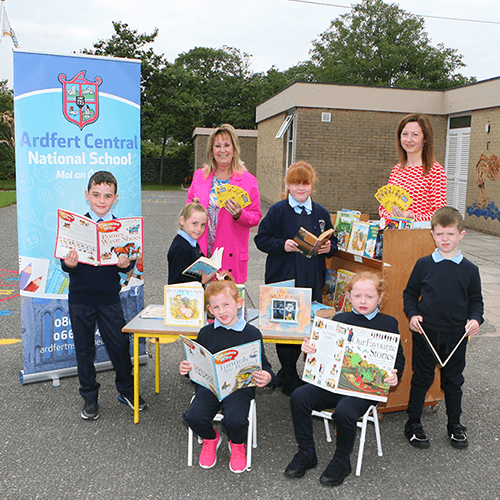 The winners at Ardfert Central National School